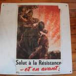 Affiche propagande anglo américaine 1944