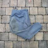 Heer culotte officier gris pierre