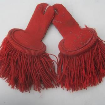 Paire épaulettes troupe 1900 1914 Piou Piou - Ventes d antiquités ... f6bb9a8574d