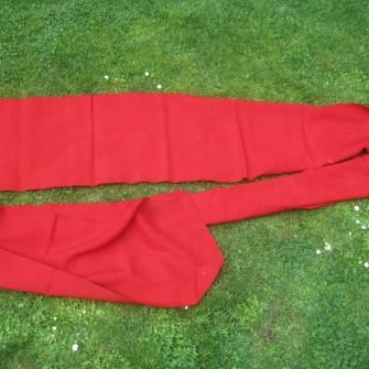 Tirailleurs ceinture de tradition laine garance - Ventes d ... 265ac9edc8f