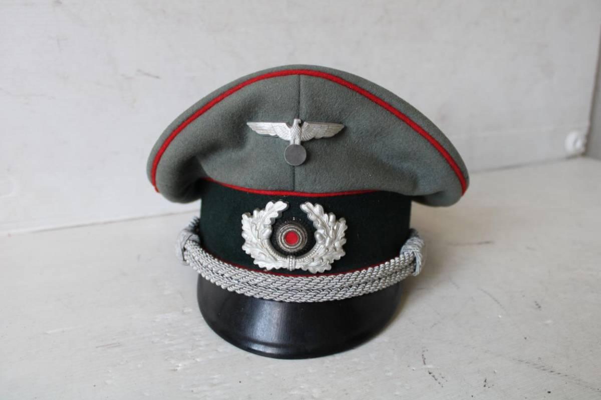 beau look prix d'usine meilleur Heer casquette officier artillerie Fabricant Schlientz ...